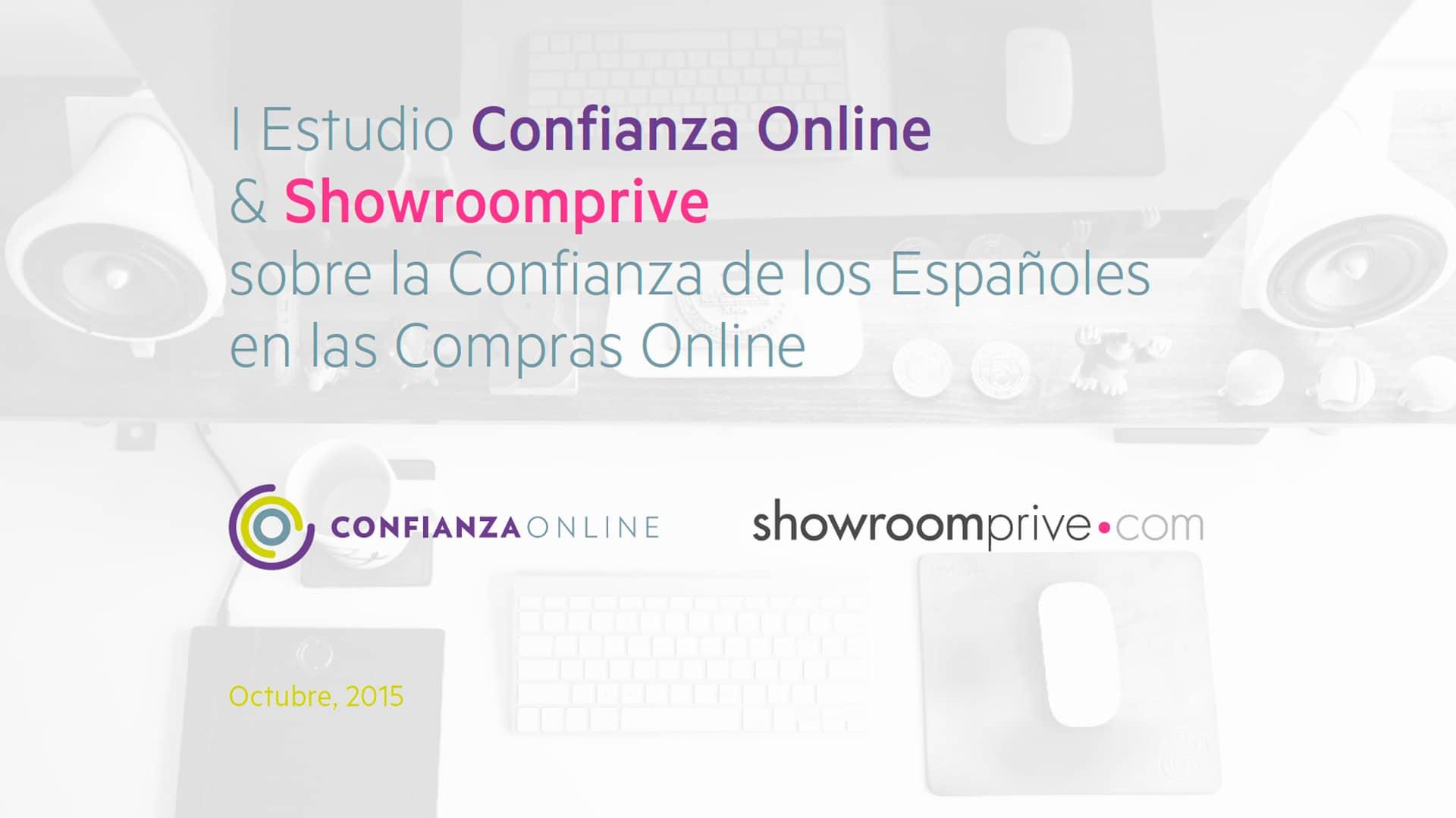 I Estudio de Confianza Online y Showroomprive