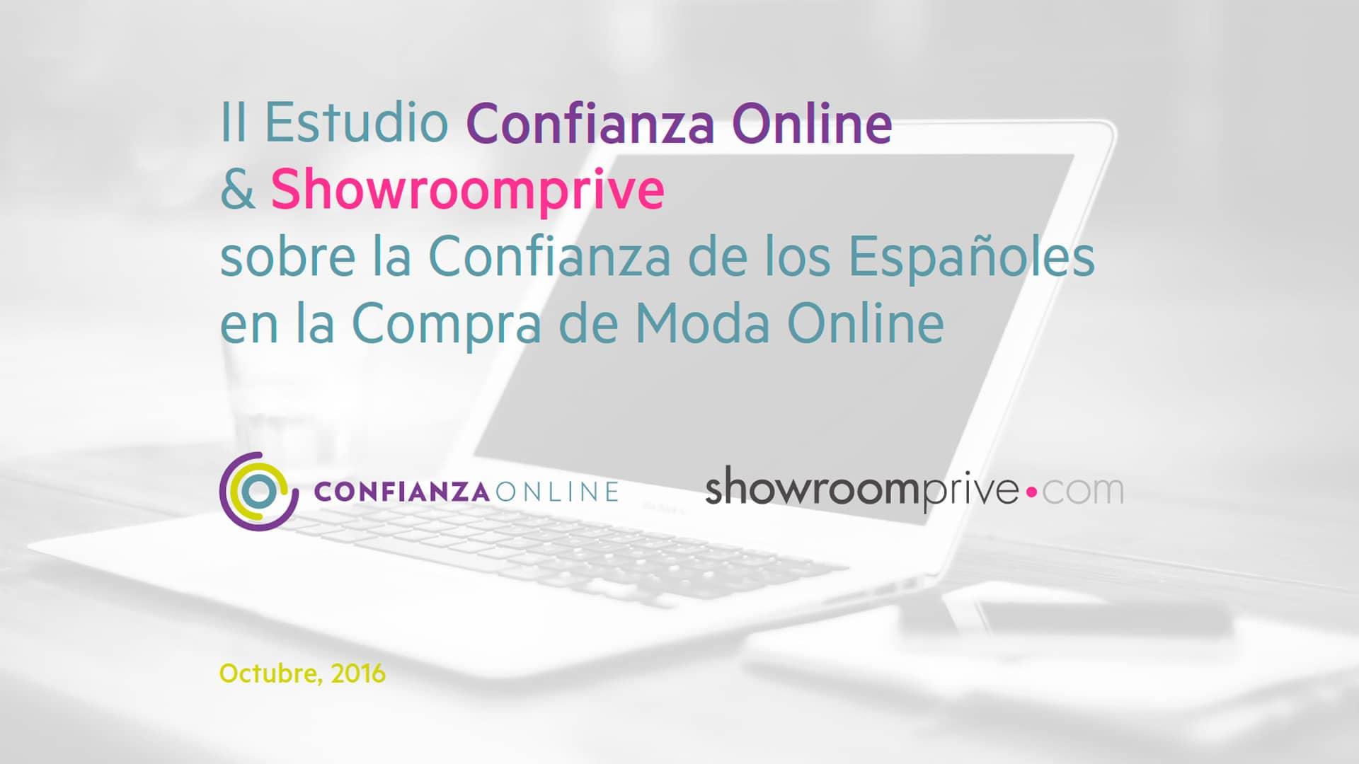 II Estudio sobre la Confianza de los Españoles en compras online