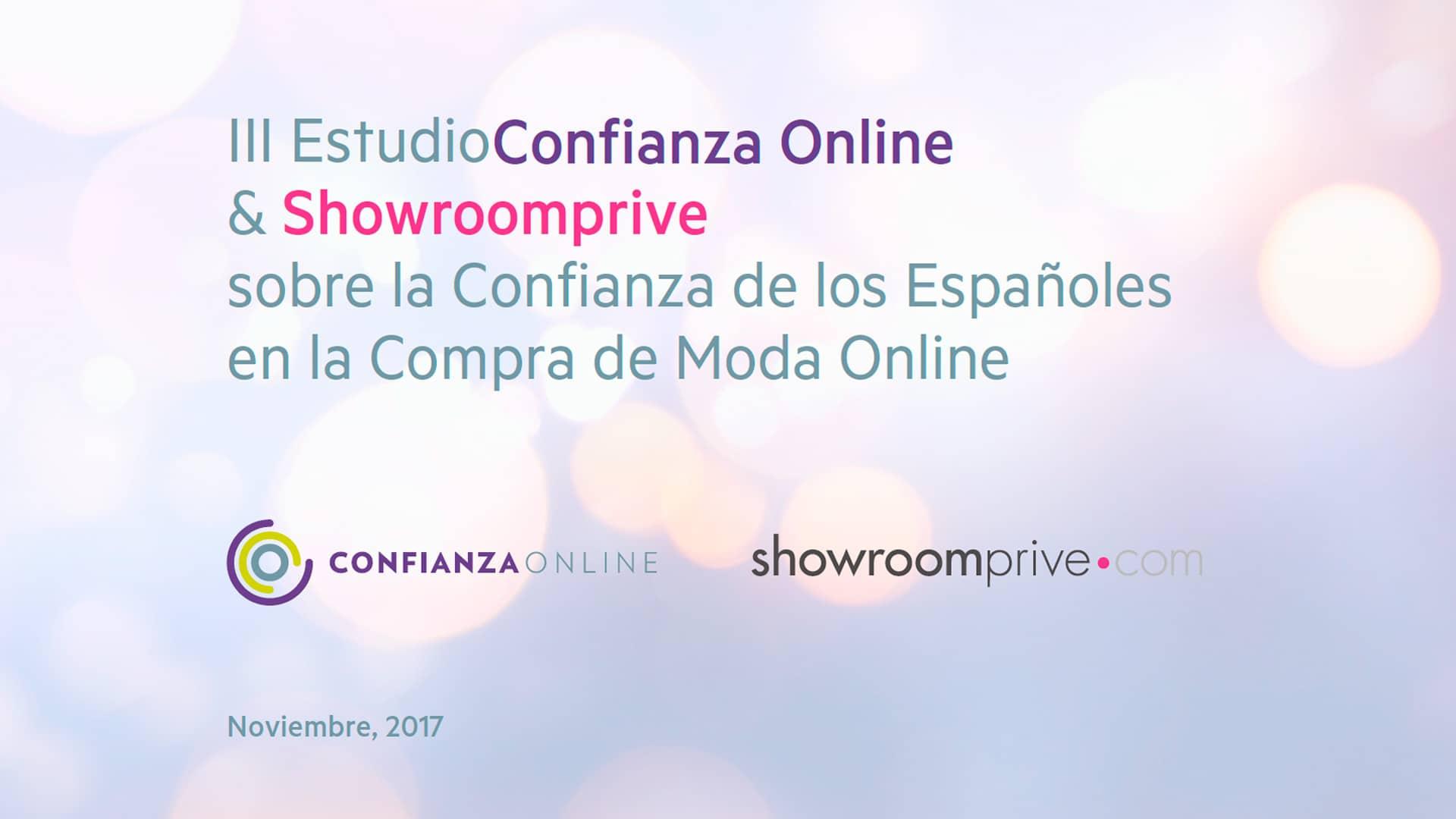 III Estudio sobre la Confianza de los Españoles en las compras de moda online