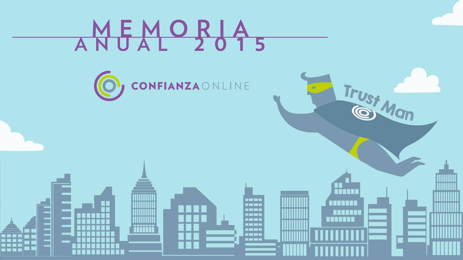 Memoria Confianza Online 2015