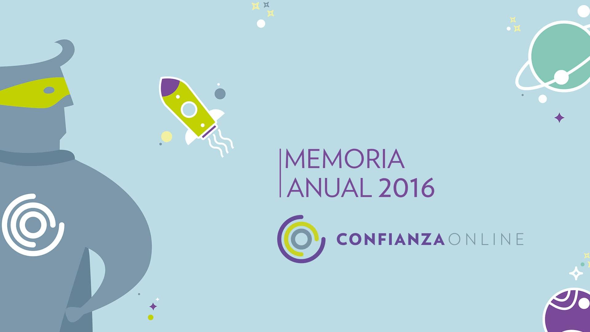 Memoria Confianza Online 2016