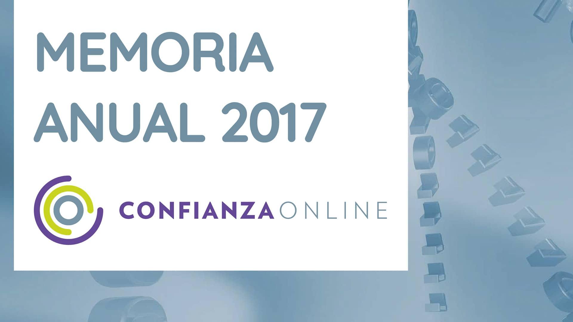 Memoria Confianza Online 2017