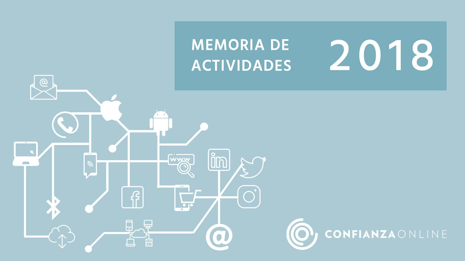 Memoria Confianza Online 2018
