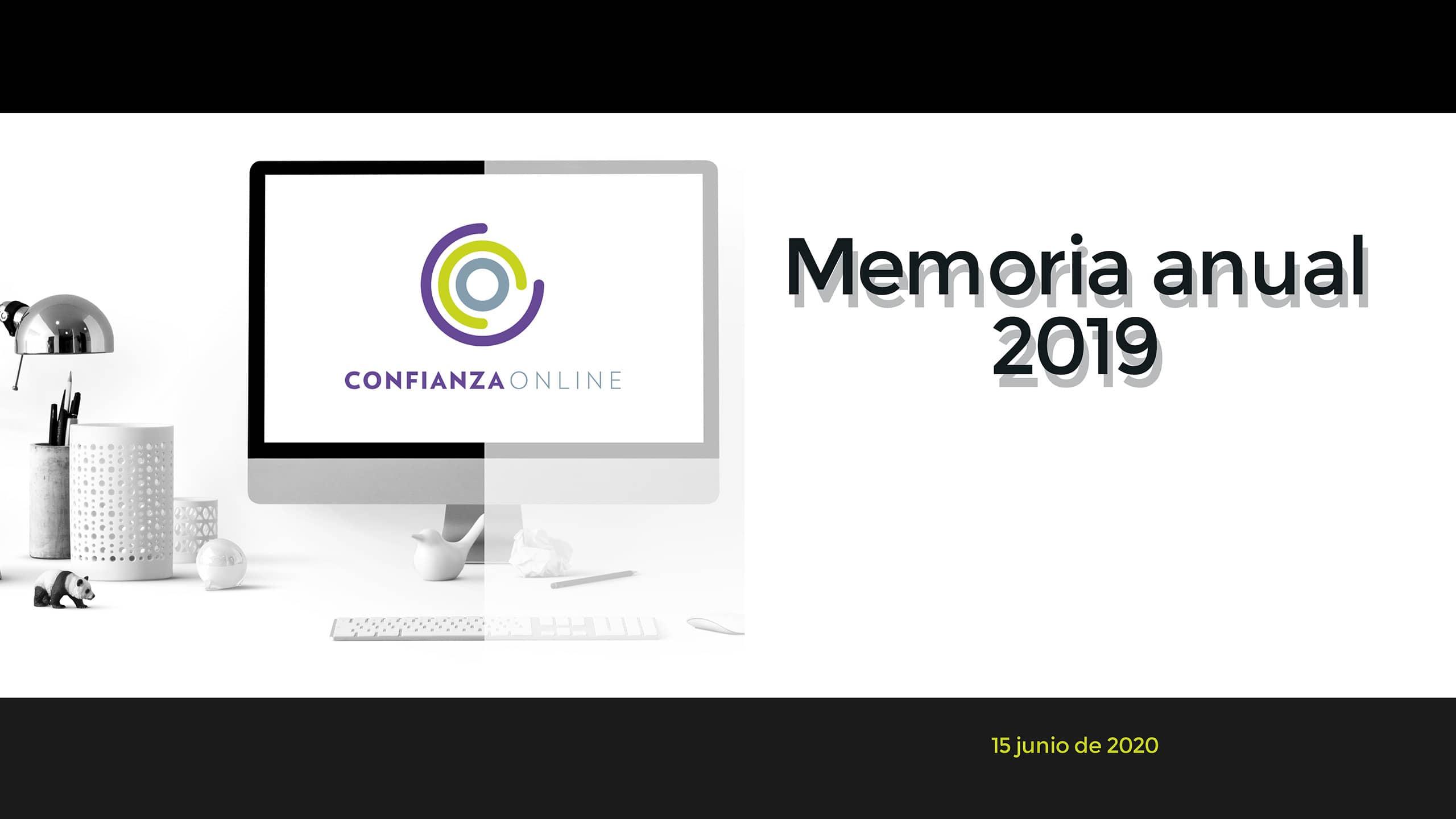 Memoria Confianza Online 2019