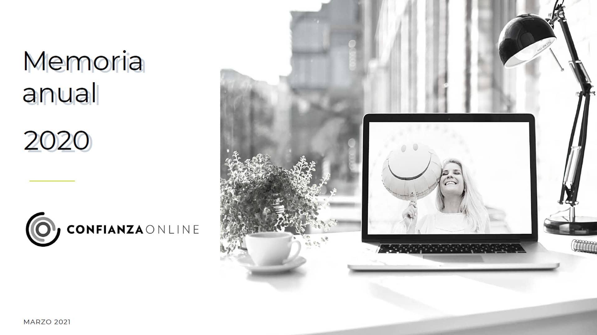 Memoria Confianza Online 2020