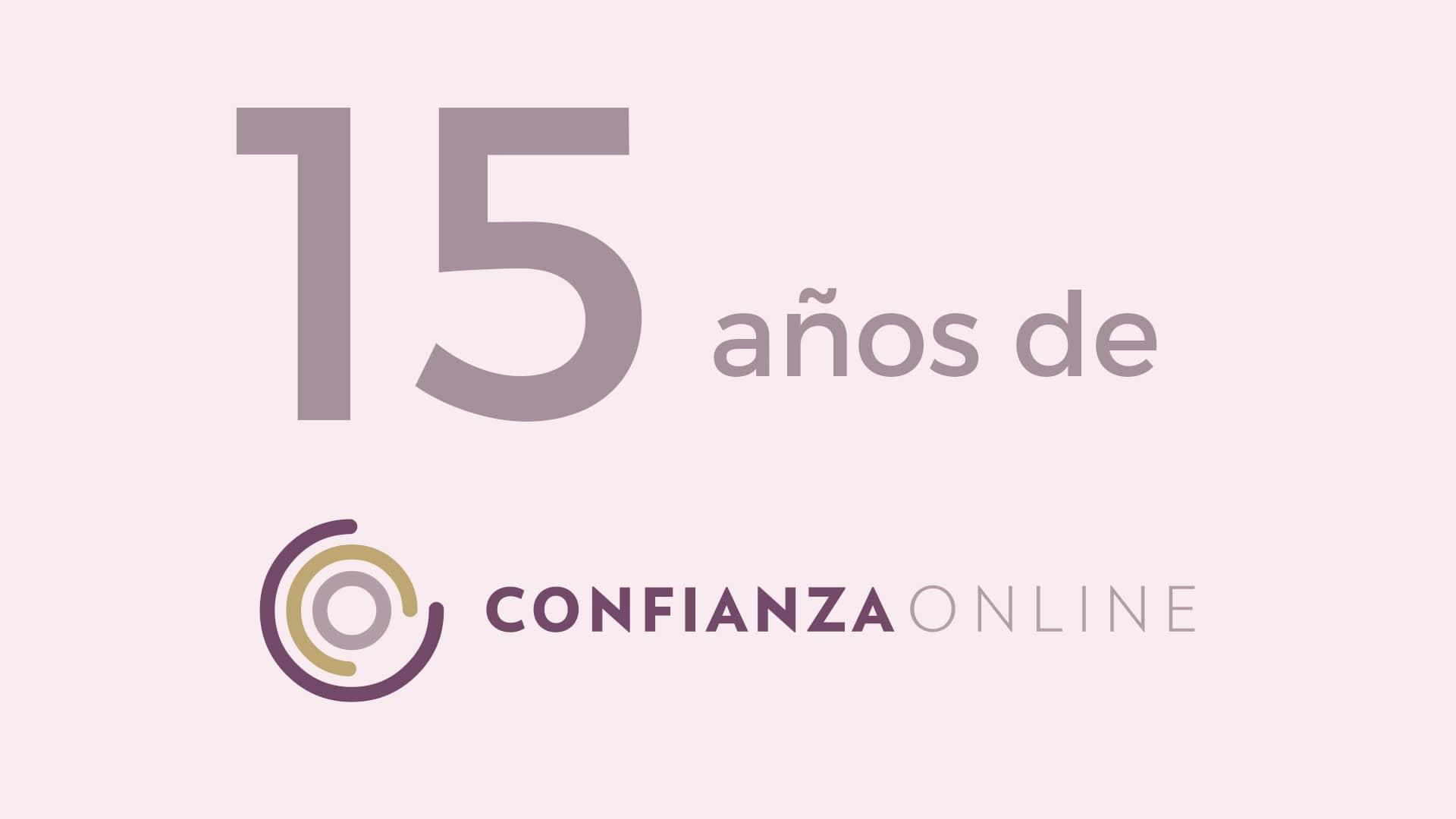 Confianza Online celebra 15 años de actividad con un recorrido a través de los hitos más importantes de su historia