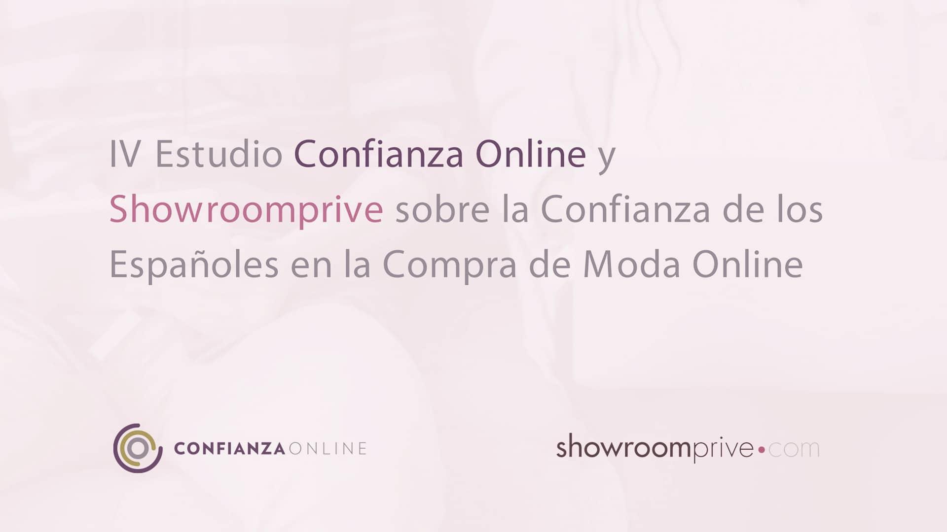 Nuevo Estudio de Showroomprive y Confianza Online sobre la Confianza de los Españoles en la Compra de Moda Online